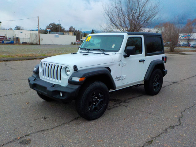 New 2019 Jeep Wrangler Sport 4X4 For Sale